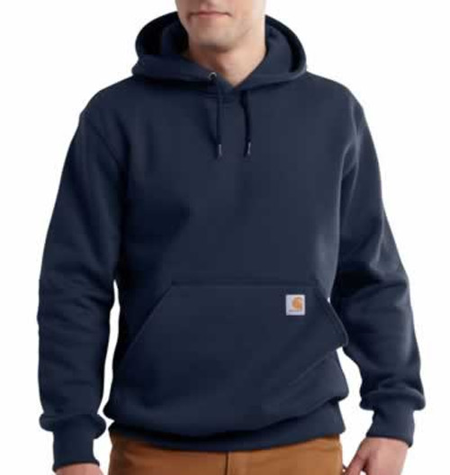 Carhartt Heavyweight Navy Paxton Hooded Sweatshirt