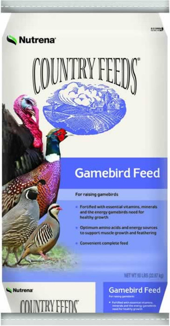 Nutrena Country Feeds Gamebird Turkey Grower Crumble 50 Pounds