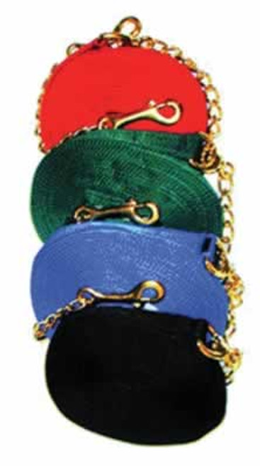 Nylon Horse Lunge Line With Chain