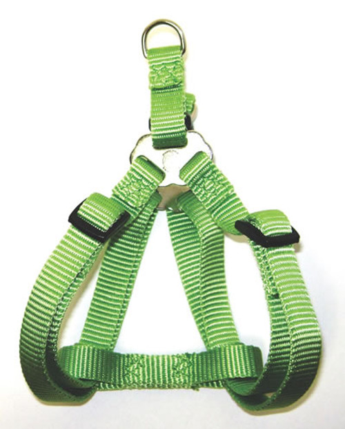 Hamilton Adjustable Easy On Harness, 30-40 Inches, Lime Green