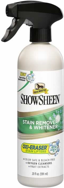 Absorbine ShowSheen Stain Remover & Whitener for Horses 20 Ounces