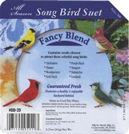 Heath Songbird Fancy Blend Suet Cake
