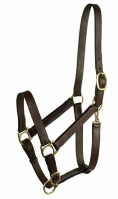 Gatsby Stable Halter With Snap, Extra Large Horse
