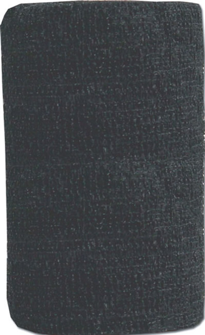 Powerflex Black, 4 Inch Equine Bandage