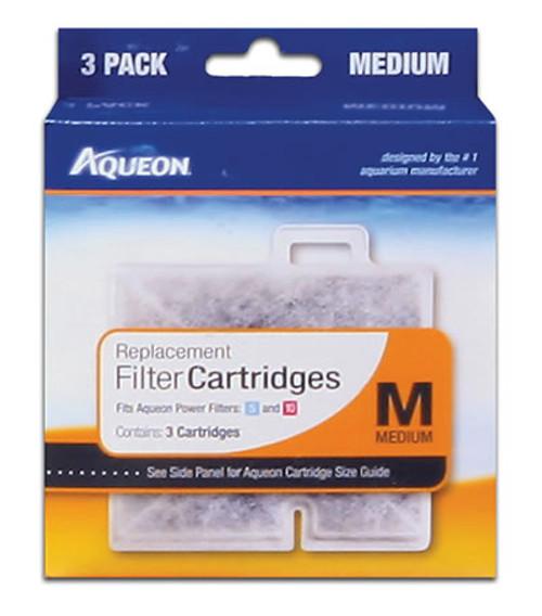 Aqueon Cartridge, Medium/3 Pack