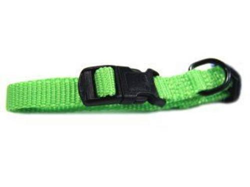 Hamilton Lime Nylon Adjustable Collar 3/8 x 7-12 Inch