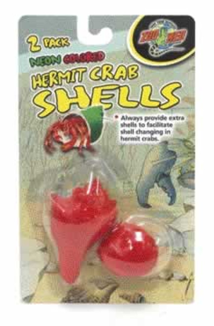 Zoo Med Neon Colored Hermit Crab Shells, 2 Pack