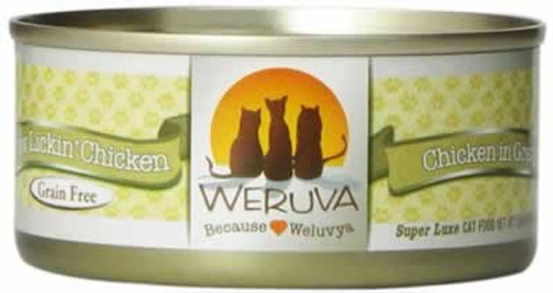 Weruva Paw Lickin' Chicken Grain Free Canned Cat Food 5.5 Ounces