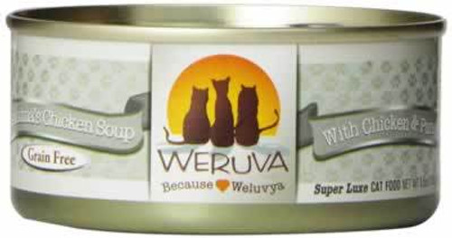 Weruva Grandma's Chicken Soup Grain Free Canned Cat Food 5.5 Ounces