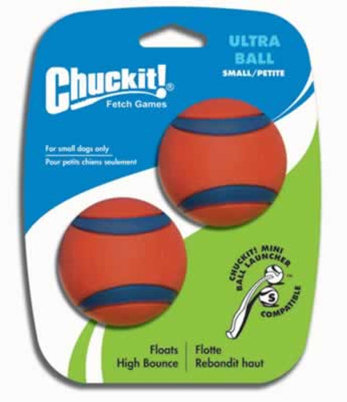 Chuckit! Ultra Ball, 2 inch, 2 pack