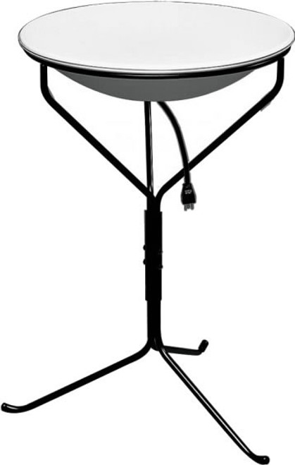 Heated Birdbath With Stand, 20 Inch