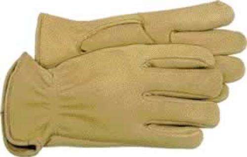 Boss Premium Grain Deerskin Leather Driver Glove, Large