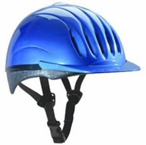 Equi-Lite Fashion Helmet Blue Small