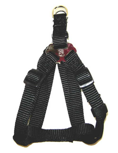 Hamilton Large Adjustable Nylon Comfort Harness, Black