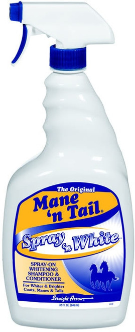 Mane 'n Tail Spray And White Shampoo, Quart