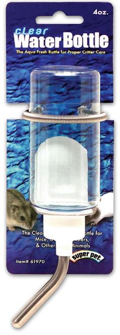 Clear Water Bottle, 4 Oz.