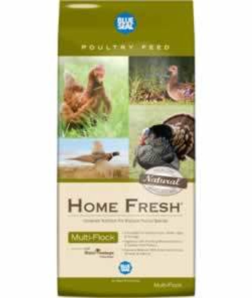Blue Seal Home Fresh Multi-Flock Chick N Game Starter/Grower Pellets 50 Pounds