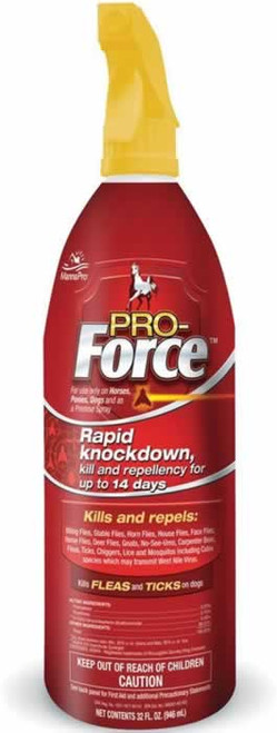 Manna Pro Pro-Force Fly Spray for Horses 32 Ounces