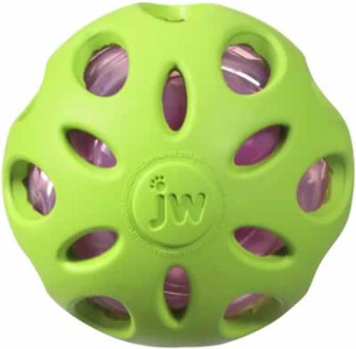 JW Pet Crackle Heads Ball, Medium