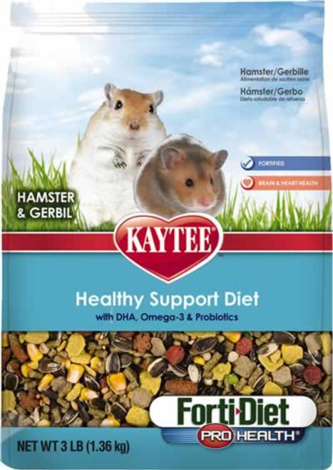Kaytee Forti-Diet Pro Health Hamster & Gerbil Food, 3 Pound