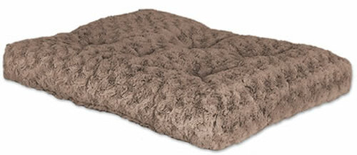 Taupe Ombre Swirl Pet Bed, 40x27 Inch