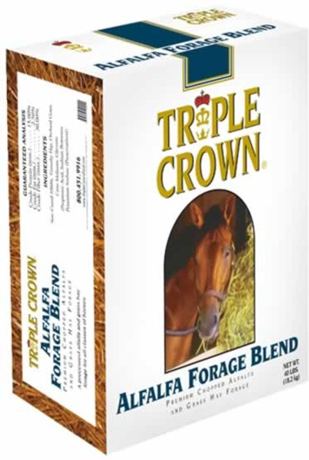 Triple Crown Alfalfa Forage Blend 40 Pounds
