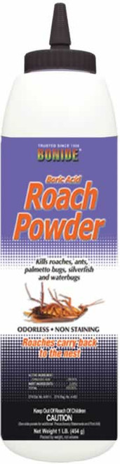 Bonide Boric Acid Roach Powder 1 Pound