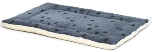 Blue Reversible Pet Bed, 41x27 Inch