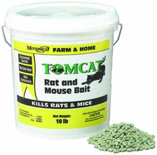 Tomcat Rat & Mouse Bait Pellets 10 Pounds