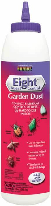Bonide Eight Insect Control Garden Dust, 10 Ounce