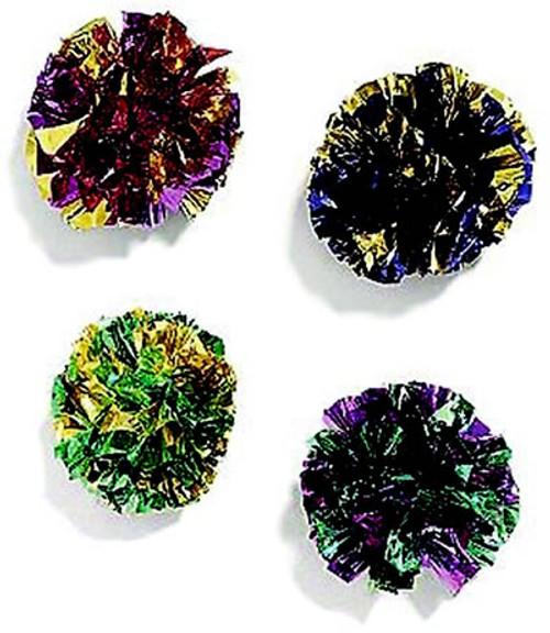 Mylar Balls, 4 Pack