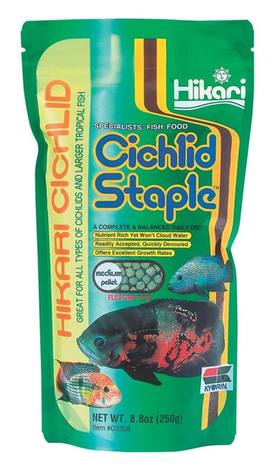 Hikari Cichlid Staple Medium, 8.8 Ounce