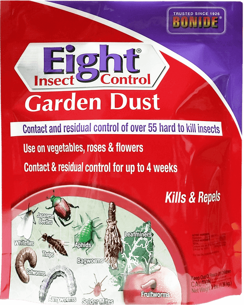Bonide Eight Insect Control Garden Dust, 3 Pound
