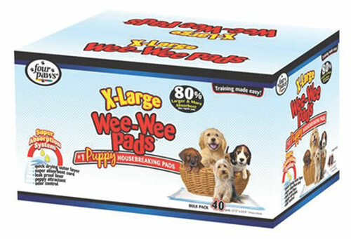 Extra Large Wee Wee Pads For Puppies, 40 Count
