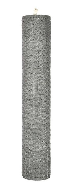 "Garden Zone Galvanized Hex Netting, 20G x 1"" x 36"" x 50'"