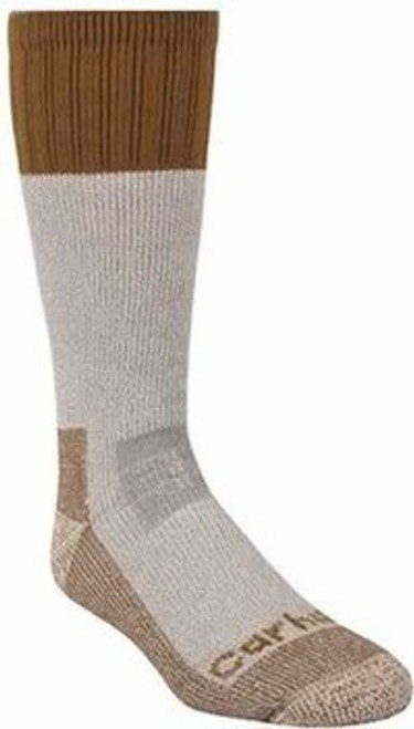 Carhartt Men's Extreme Cold Weather Brown Boot Sock