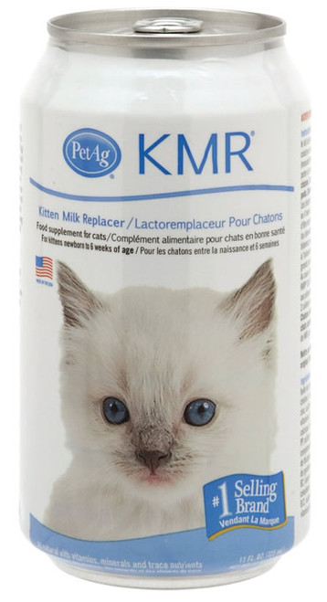 KMR Milk Replacer For Kittens Liquid, 11 Oz.