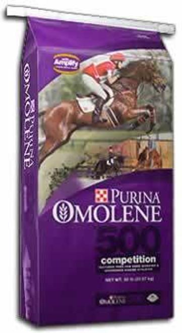 Purina Omolene 500 Horse Feed, 50 Lb.