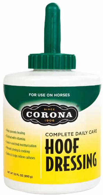 Corona Hoof Dressing with Brush, Liter