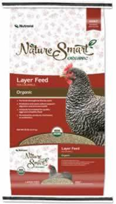 Nutrena Nature Smart Organic Layer Crumble 35 Pounds