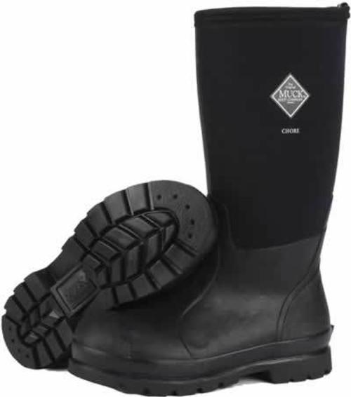 Muck Boots Chore Hi All-Conditions Work Boot, Men's 10/Women's 11