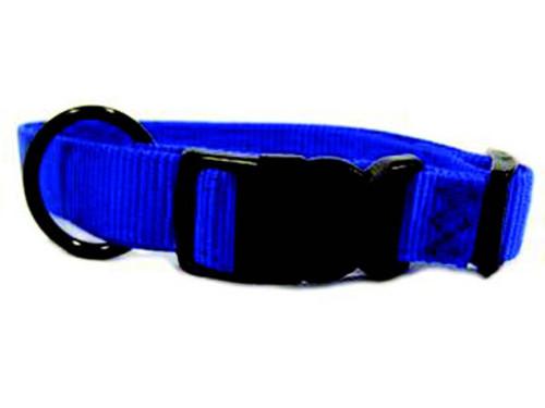 Hamilton Blue Nylon Adjustable Collar 1 x 18-26 Inch