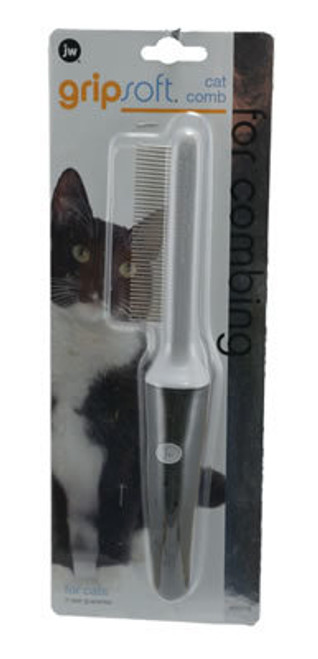 JW Pet Grip Soft Grooming Cat Comb