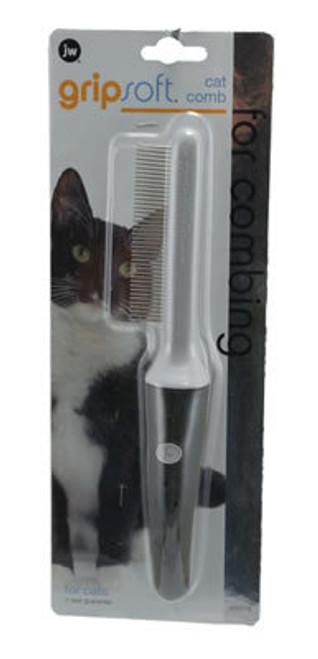 JW Pet Grip Soft Grooming Cat Comb