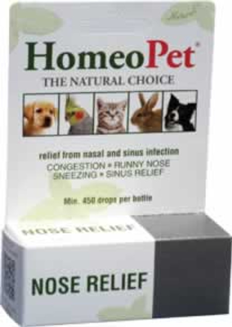 HomeoPet Nose Relief Natural Relief for Pets