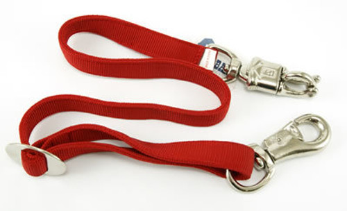 Partrade Horse Adjustable Trailer Tie Red