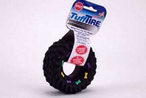 Ethical Pet Squeaky Vinyl Tire, 3.5 Inches