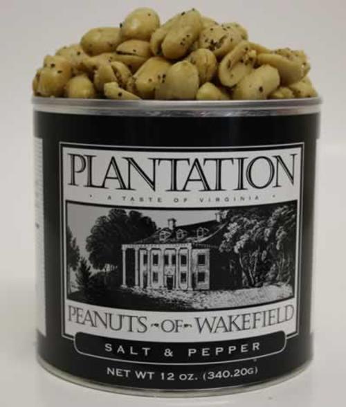 Plantation Peanuts of Wakefield Salt and Pepper Peanuts 12 Ounces