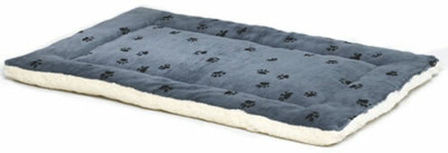 Blue Reversible Pet Bed, 35x23 Inch