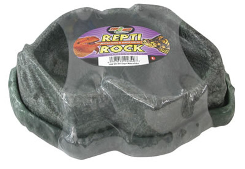 Combo Repti Rock Food & Water Dish Large